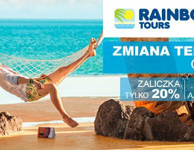 W Rainbow Tours bezpłatnie zmieniasz termin wakacji - kolejna odsłona...