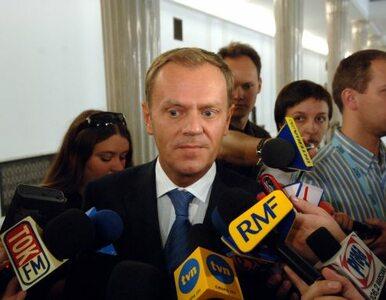 Tusk: z Komorowskim będziemy budować w zgodzie