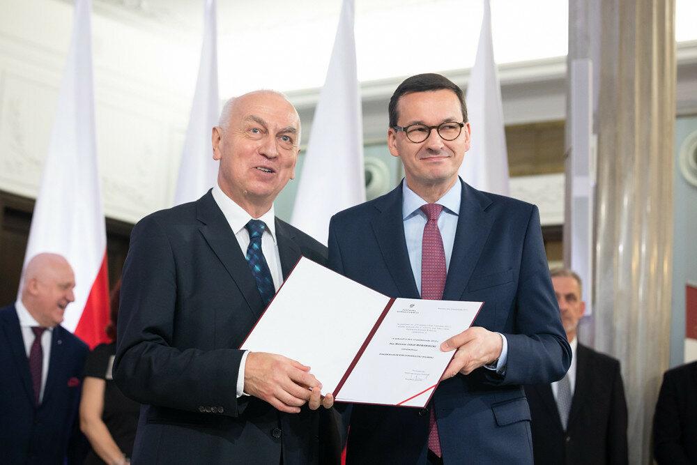 Mateusz Morawiecki odbiera nominację poselską