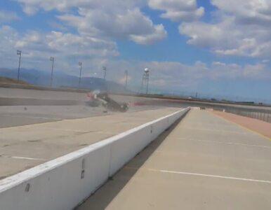 Wypadek klasyka motoryzacji na torze w Kolorado