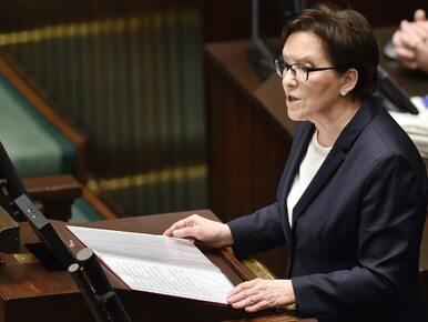 """Kopacz apeluje do Szydło o """"rzetelne warunki debaty"""" i wylicza: 10..."""