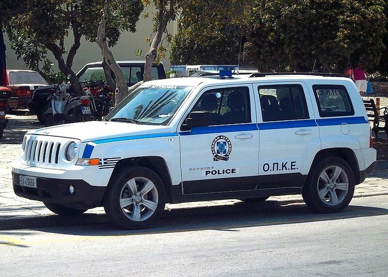 Pojazd greckiej policji