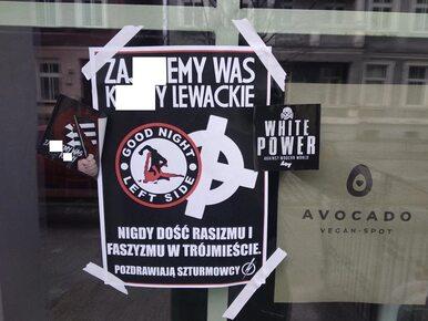 """Gdańsk. Szturmowcy zdewastowali restauracje wegańskie. """"Za***iemy was..."""