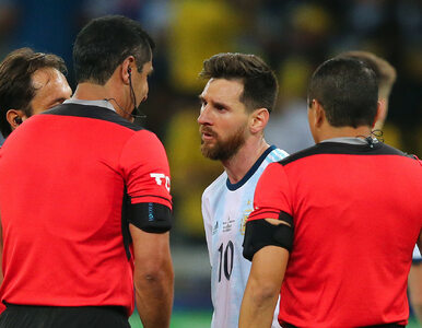 Lionel Messi zawieszony na trzy miesiące. Żadnej litości dla...