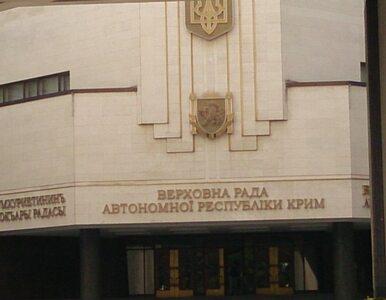 Krym przyjął deklarację niepodległości. Podstawą dokumenty ONZ