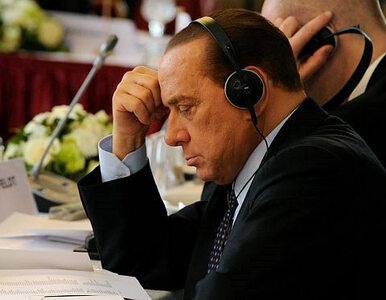 Berlusconi w Libii nie chciał, ale musiał