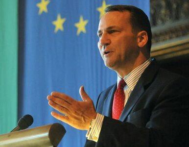 Sikorski: pokażmy Europie jak wyglada sukces