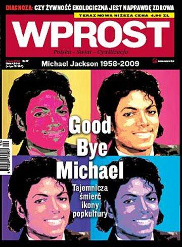 Okładka tygodnika Wprost nr 27/2009 (1382)