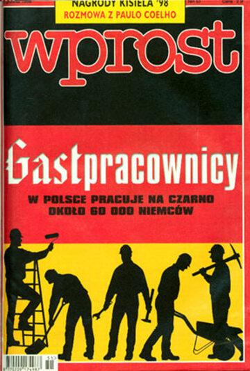 Okładka tygodnika Wprost nr 51/1998 (838)