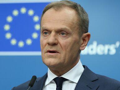 """Tusk stanie na czele Europejskiej Partii Ludowej? """"To poważny i realny..."""