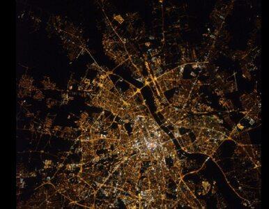 Tak wygląda Warszawa z kosmosu. Amerykański astronauta opublikował...