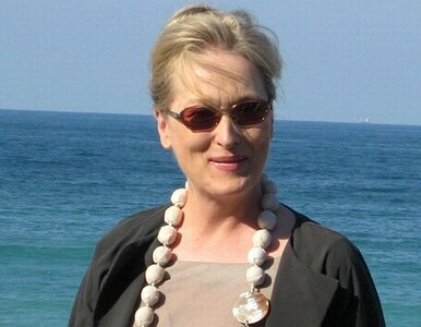 Meryl Streep nie chce śpiewać z playbacku