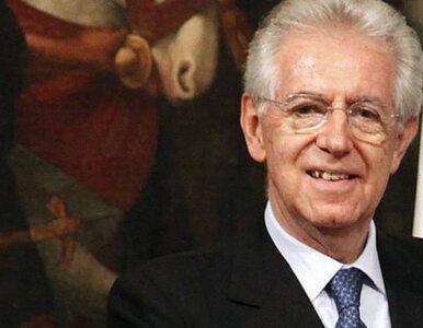 Monti: oszczędzanie to za mało - Europa potrzebuje wzrostu gospodarczego