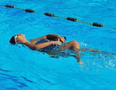 Ratowniczka WOPR po pracy... uczyła się pływać