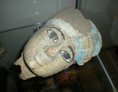 Egipska maska sprzed 3 tys. lat znaleziona w łódzkim mieszkaniu
