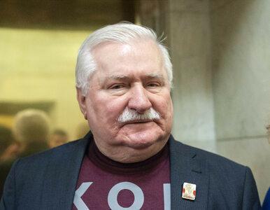 """Wałęsa chce wymusić zawieszenie używania nazwy """"Solidarność""""...."""