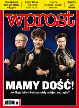 Okładka tygodnika Wprost nr 7/2011 (1462)