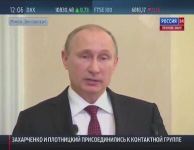 Putin: Udało nam się porozumieć. Sądzę, że udało się wiele osiągnąć