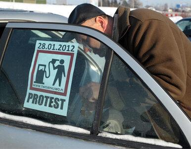 """Marszałek protestuje z kierowcami. """"Nic by się nie stało, gdyby te..."""