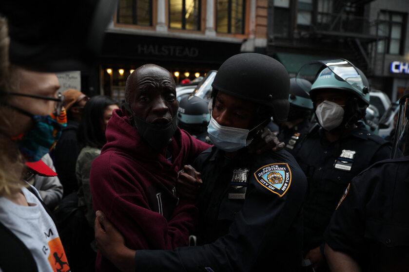 USA. Protesty po śmierci George'a Floyda