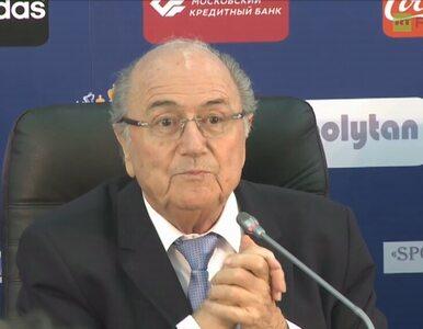 Blatter: Spotkałem się z Putinem. FIFA wspiera organizację MŚ w Rosji