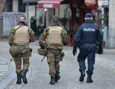 Najwyższy poziom alarmu w Brukseli utrzymany