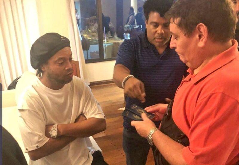 Przeszukanie Ronaldinho przez służby w Paragwaju