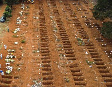Brazylia wyprzedziła Francję pod względem liczby zgonów na koronawirusa