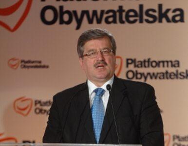 Komorowski: hazardowa popracuje do kwietnia