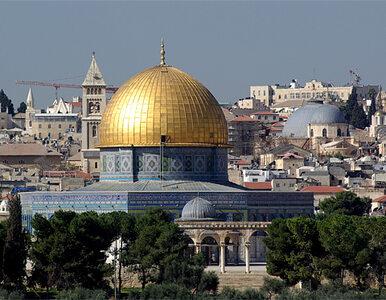 W Jerozolimie rośnie napięcie