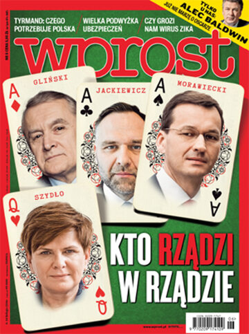 Okładka tygodnika Wprost nr 6/2016 (1723)