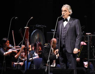Niezwykły koncert Andrei Bocellego w pustej katedrze w Mediolanie
