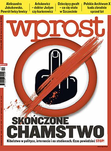 Okładka tygodnika WPROST: 20/2011