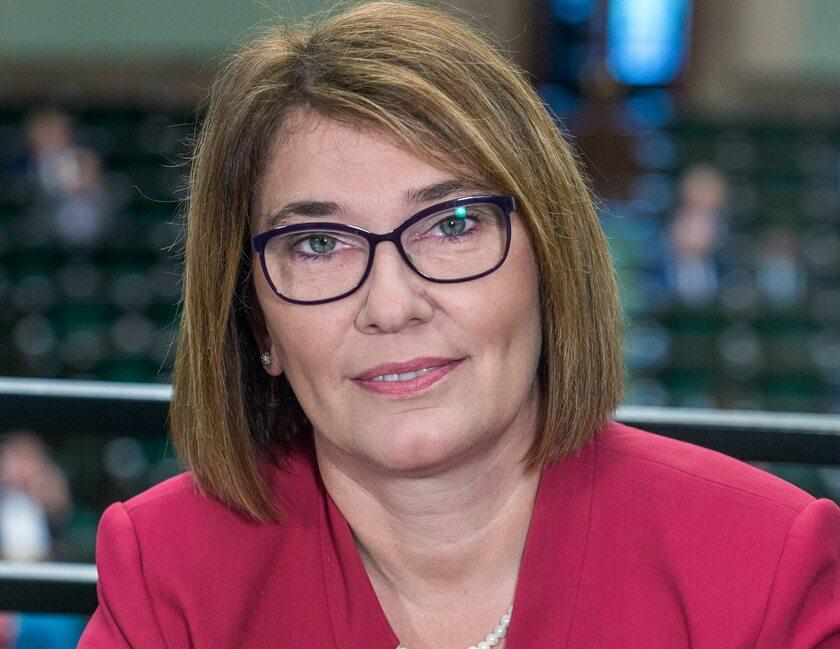 Rzecznik PiS Beata Mazurek