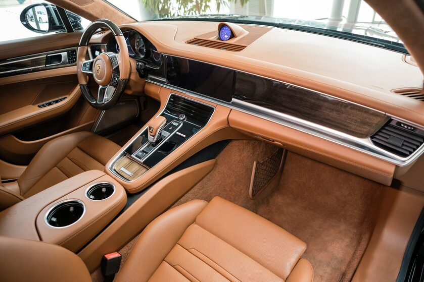 Wnętrze Porsche
