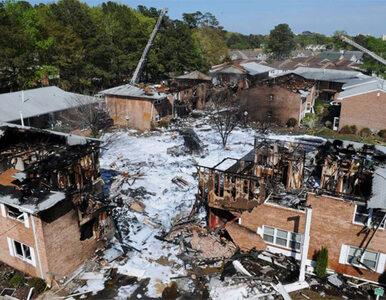 USA: myśliwiec spadł na domy, są ranni