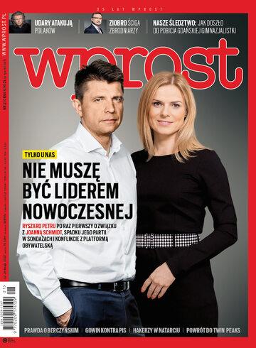 Okładka tygodnika Wprost nr 21/2017 (1787)