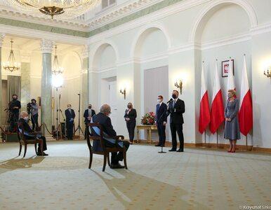 Prezydent wręczył najwyższe odznaczenia państwowe – Ordery Orła Białego