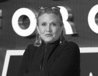 Zmarła Carrie Fisher, aktorka, która wcieliła się w rolę księżniczki Lei...