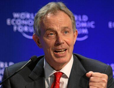 Blair: Uderzenie w Państwo Islamskie musi nadejść również z ziemi