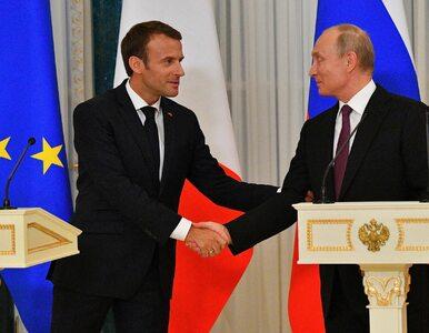 Macron spotka się z Putinem na kilka dni przed G7. Zaprosił go do...