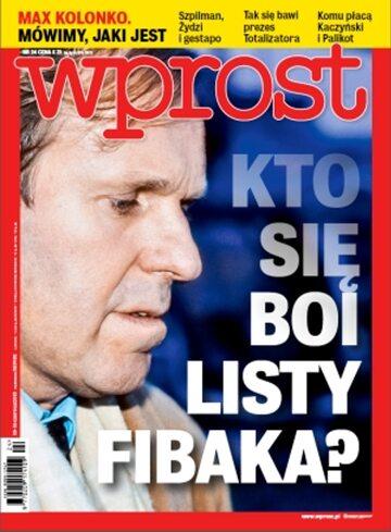Okładka tygodnika WPROST: 24/2013