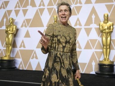 Skradziono Oscara Frances McDormand. Złodziej wrzucił nagranie do sieci