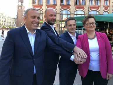 Kandydat na prezydenta Wrocławia Jacek Sutryk z poparciem PO i Nowoczesnej