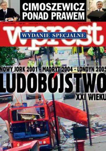 Okładka tygodnika Wprost nr 28/2005 (1180)