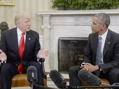 CNN: Obama przestrzegał Trumpa przed problematycznym doradcą. Został...