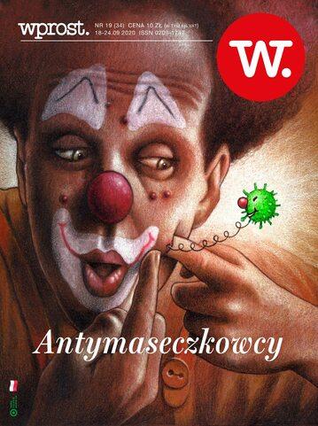 Okładka tygodnika Wprost nr 34/2020 (1950)