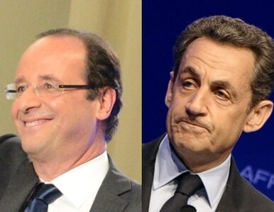 Oficjalnie: Hollande o 1,5 punktu procentowego przed Sarkozym