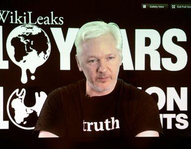 """Umorzone śledztwo wobec założyciela WikiLeaks. """"Jeśli opuści ambasadę,..."""