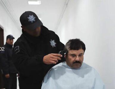 """""""El Chapo"""" na unikatowym nagraniu. Pokazano jego pierwsze chwile w..."""